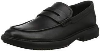 FitFlop Men's Irving Boat Shoes, (Black 001), 10 (44 EU)