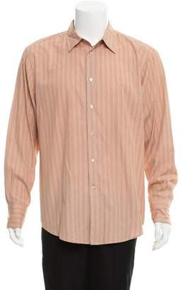 John Varvatos Striped Casual Shirt