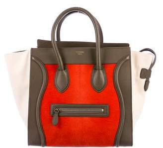 Celine Ponyhair Mini Luggage