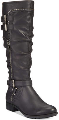 White Mountain Remi Wide-Calf Riding Boots