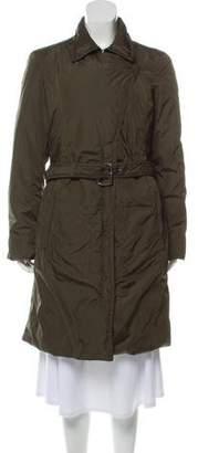 ADD Knee-Length Down Coat