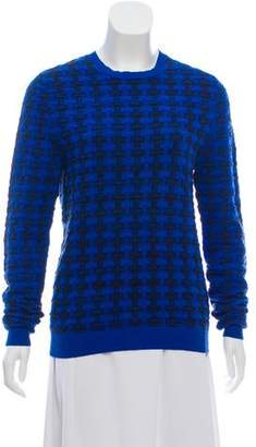 Jonathan Saunders Crew Neck Jacquard Sweater