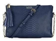 GiGi New York Hailey Embossed Crossbody Bag