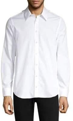 Helmut Lang Waistcoat Cotton Button Down Shirt