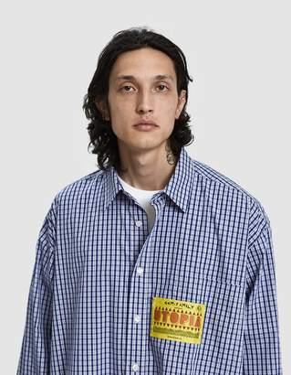 Martine Rose Boyfriend Button Up Shirt