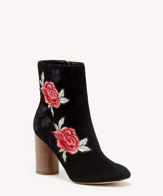 Sole Society Mulholland Cylinder Heel Bootie