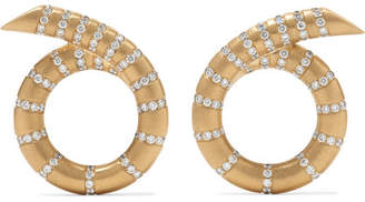 Jemma Wynne - Aria 18-karat Gold Diamond Earrings