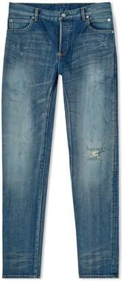 Balmain Distressed Skinny Fit Jean