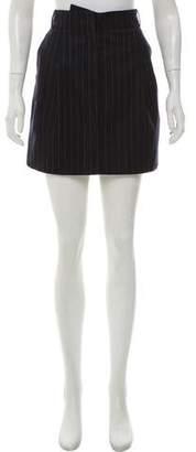 Balenciaga Wool Mini Skirt