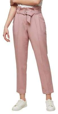 Miss Selfridge Dusty Paperbag Trousers
