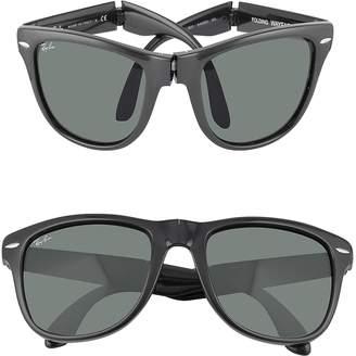 Ray-Ban Wayfarer Folding - Square Acetate Sunglasses