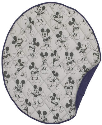 Disney Mickey Mouse Round Quilted Blanket Bedding