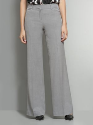 New York & Co. The 7th Avenue Wide Leg Pant - Park Avenue Grey - Average