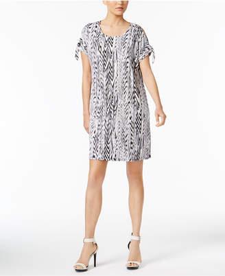Calvin Klein Cold-Shoulder Shift Dress, a Macy's Exclusive Style $89.50 thestylecure.com