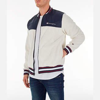 Champion Men's Sherpa Baseball Jacket