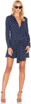 DEREK LAM 10 CROSBY Tie Waist Shirt Dress in Blue $395 thestylecure.com