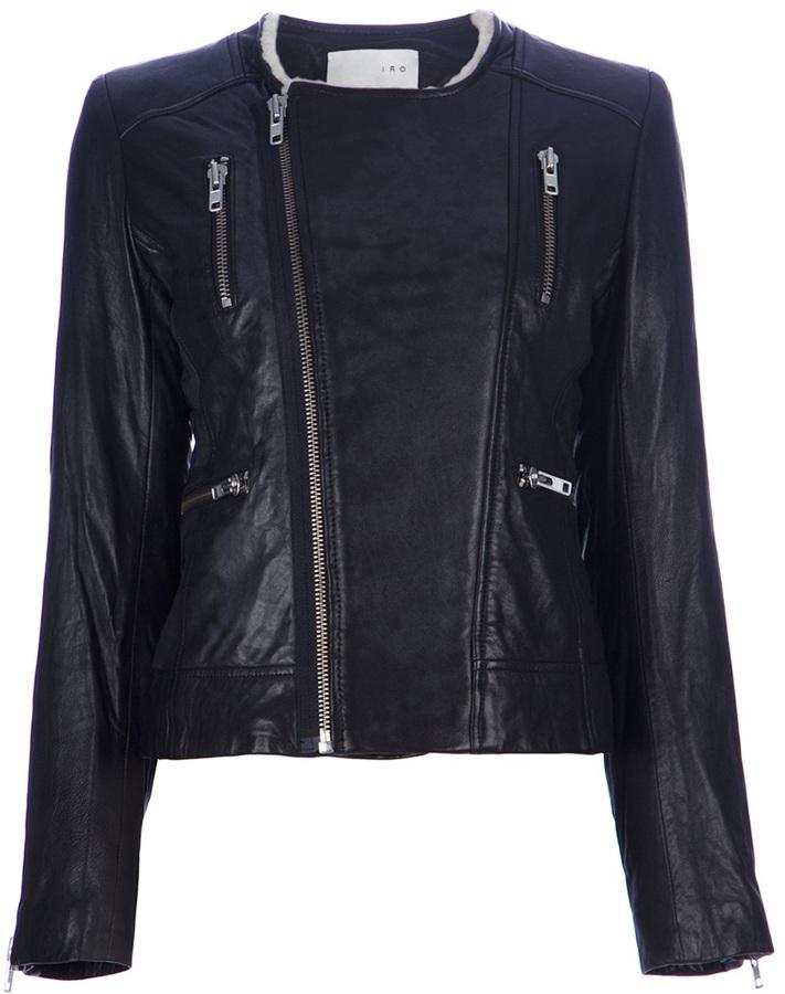 IRO 'Svea' leather jacket