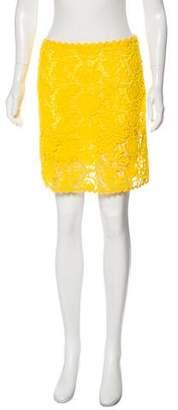 Blumarine Lace Mini Skirt