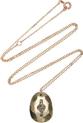 Pascale Monvoisin Orso No.2 Pyrite Necklace