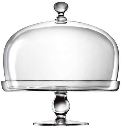 Luigi Bormioli Michelangelo Cake Plate with Dome