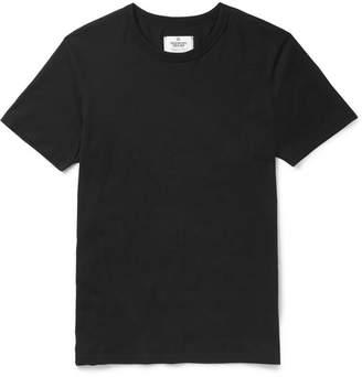 Reigning Champ Ring-Spun Cotton-Jersey T-Shirt - Men - Black