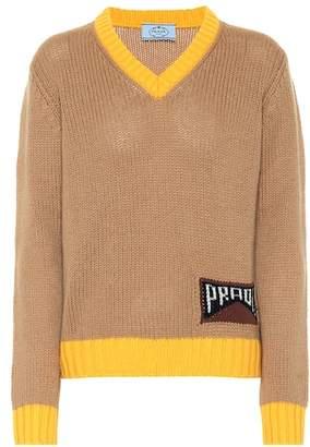 Prada Cashmere-blend sweater