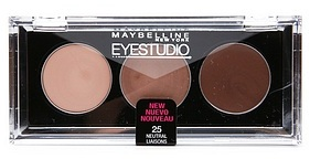 Maybelline Eyestudio Trio Cream Eyeshadow Set, Neutral Liasons 25
