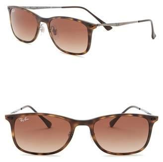 Ray-Ban 52mm Tech Light Ray Square Sunglasses