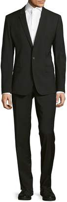 Dolce & Gabbana Men's Pinstriped Wool-Blend Suit