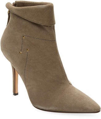 Jerome Dreyfuss Suede Point Toe Suzanne Boot