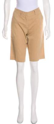 Theory Low-Rise Knee-Length Shorts