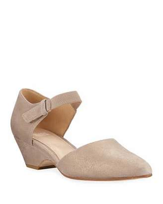 Eileen Fisher Gal Brushed Suede Pumps