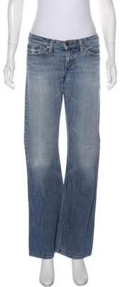 Joe's Jeans Low-Rise Wide-Leg Jeans