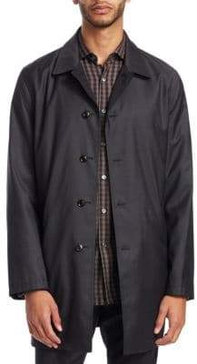 Ermenegildo Zegna Cotton Rain Coat
