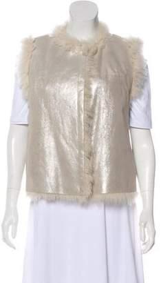 Brunello Cucinelli Silk Glitter Vest