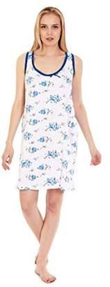 e779deae28 Lati Fashion 906 Women Night Gowns Sleep Shirts Pajamas (Blue