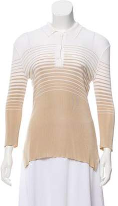 Sonia Rykiel Long Sleeve Knit Top