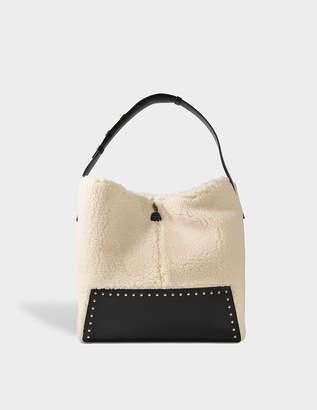 Stella McCartney Fur free alter shearling hobo bag