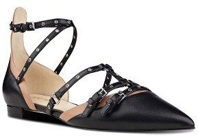 Women's Nine West Aweso Pointy Toe Flat $88.95 thestylecure.com