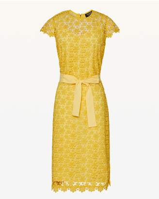 Juicy Couture Lydia Guipure Lace Midi Dress