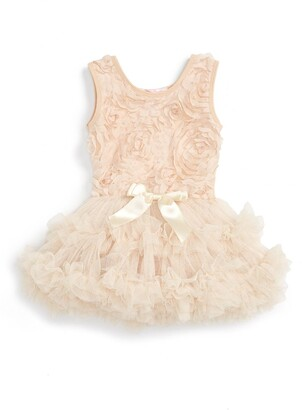 41a09758a65 Popatu Ribbon Rosette Tutu Dress