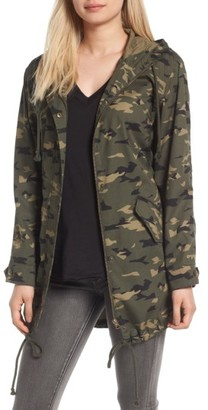 Women's Bp. Hooded Cotton Anorak $69 thestylecure.com