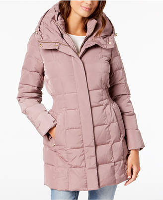 Cole Haan Hooded Down Puffer Coat