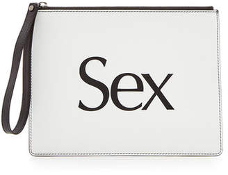 Christopher Kane Sex Leather Clutch