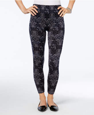 First Looks Women's Bandana Floral Seamless Leggings, Created for Macy's