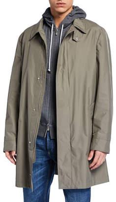Brunello Cucinelli Men's Lightweight Trench Coat