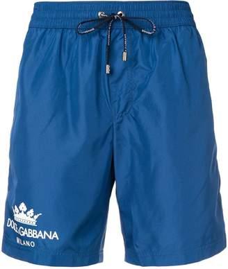 Dolce & Gabbana logo swimming shorts