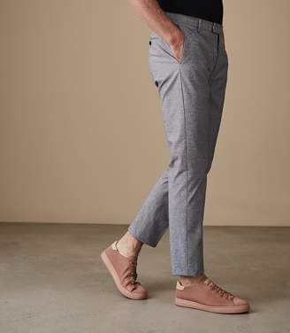 Reiss CASPIAN SLIM FIT TROUSERS Soft Blue