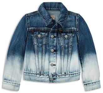 Polo Ralph Lauren Girls' Dip-Dyed Denim Jacket - Little Kid