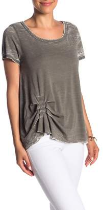 Melrose and Market Pleated Washed Tee (Regular & Petite)